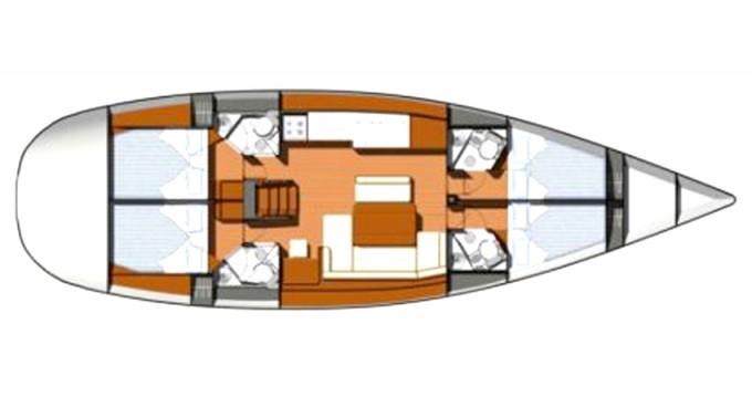 Bootverhuur Olbia goedkoop Sun Odyssey 49i