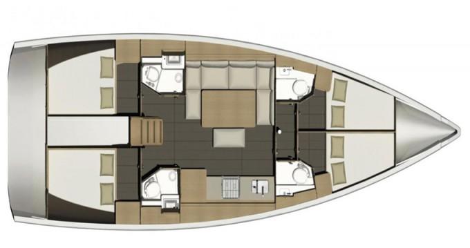 Huur Zeilboot met of zonder schipper Dufour in Marina di Portisco