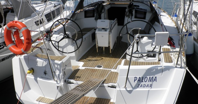 Verhuur Zeilboot in Sukošan - Jeanneau Sun odyssey 379 performance