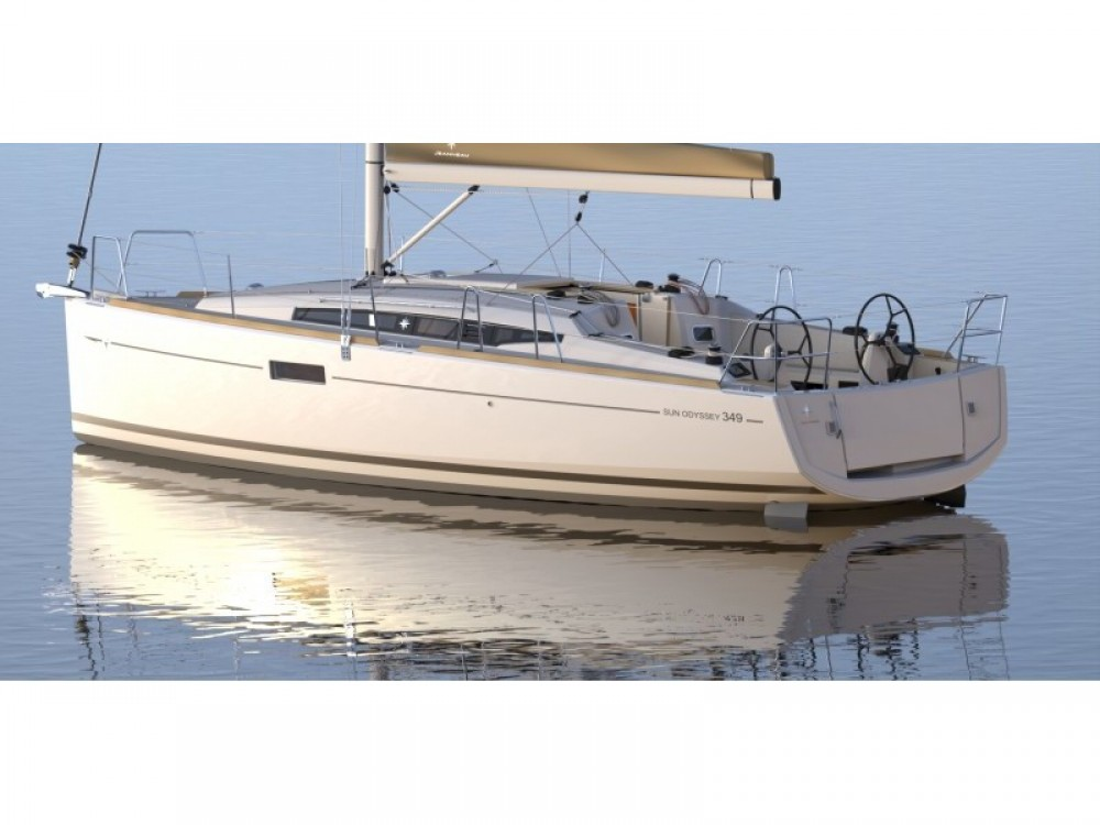 Verhuur Zeilboot in Sukošan - Jeanneau Sun Odyssey 349