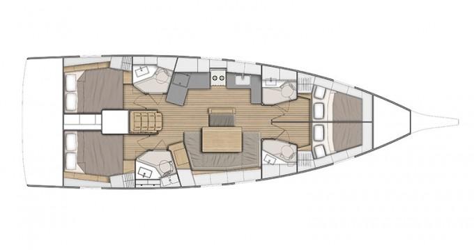 Verhuur Zeilboot in Athene - Bénéteau Oceanis 46.1