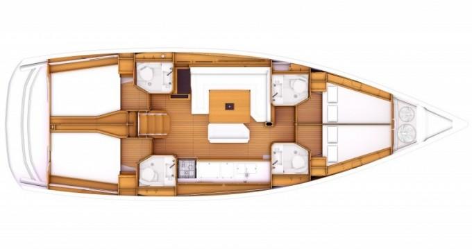 Verhuur Zeilboot in Salamína - Jeanneau Sun Odyssey 469