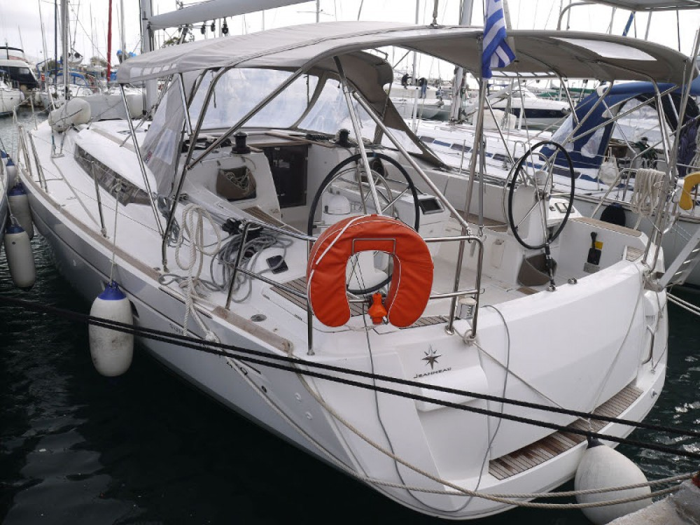 Huur Zeilboot met of zonder schipper Jeanneau in Álimos