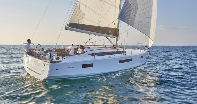 Jeanneau Sun Odyssey 410 te huur van particulier of professional in Lefkas Marina
