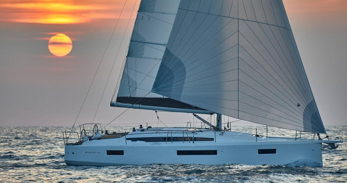 Huur een Jeanneau Sun Odyssey 410 in Lefkas Marina