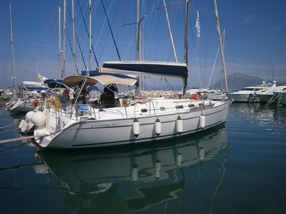 Bénéteau Cyclades 434 te huur van particulier of professional in Leucade