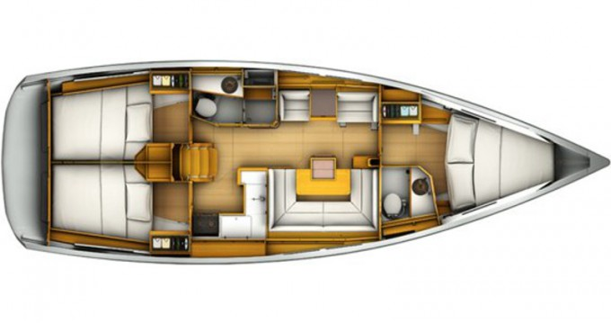 Verhuur Zeilboot in Marmaris - Jeanneau Sun Odyssey 409