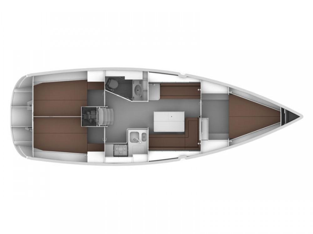 Verhuur Zeilboot in De Fryske Marren - Bavaria Bavaria Cruiser 36