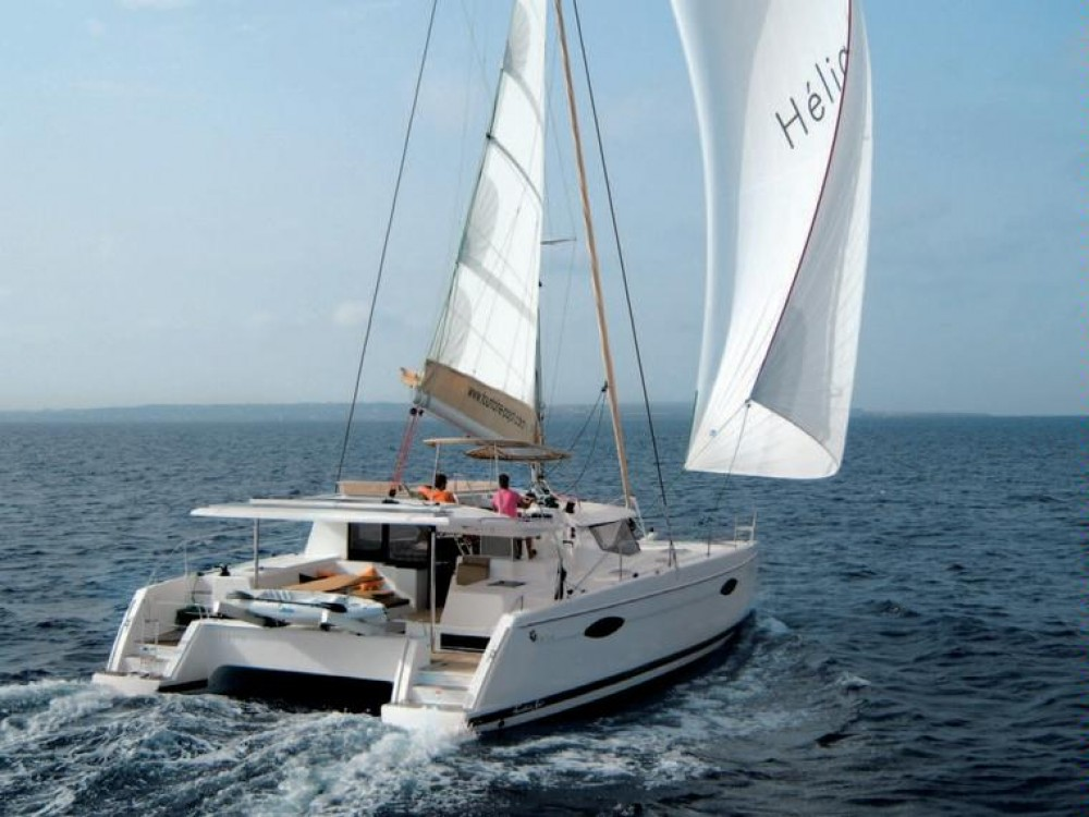 Jachthuur in Le Marin - Fountaine Pajot Helia 44 via SamBoat
