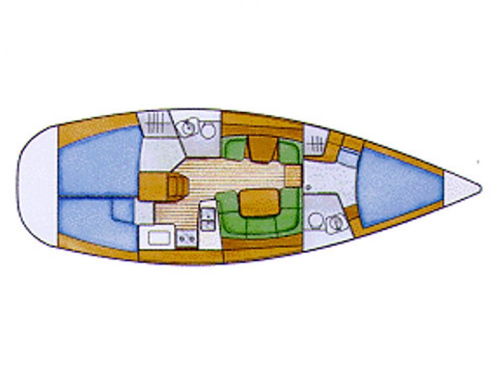Bootverhuur Jeanneau Sun Odyssey 42i in Le Marin via SamBoat