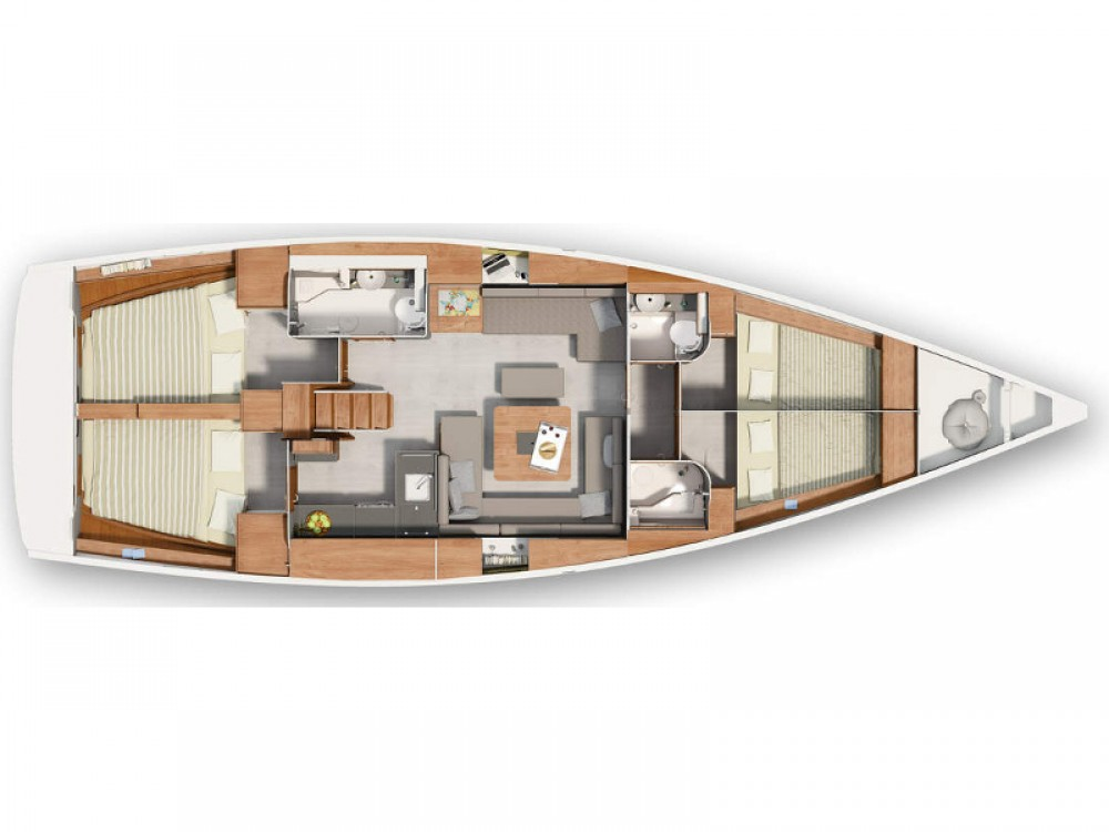 Bootverhuur Hanse Hanse 455 in Morningside marina via SamBoat