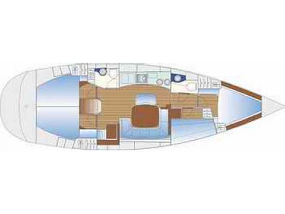 Verhuur Zeilboot in Nacka - Bavaria Bavaria 44