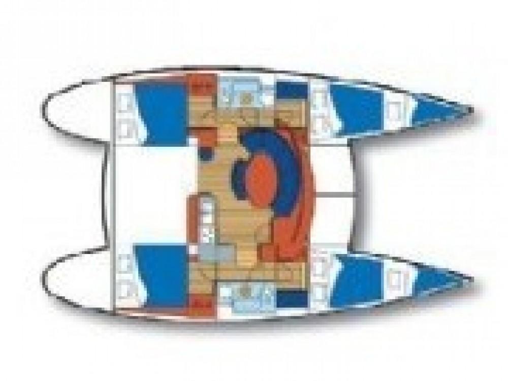 Bootverhuur Šibenik goedkoop Lagoon 380 S2