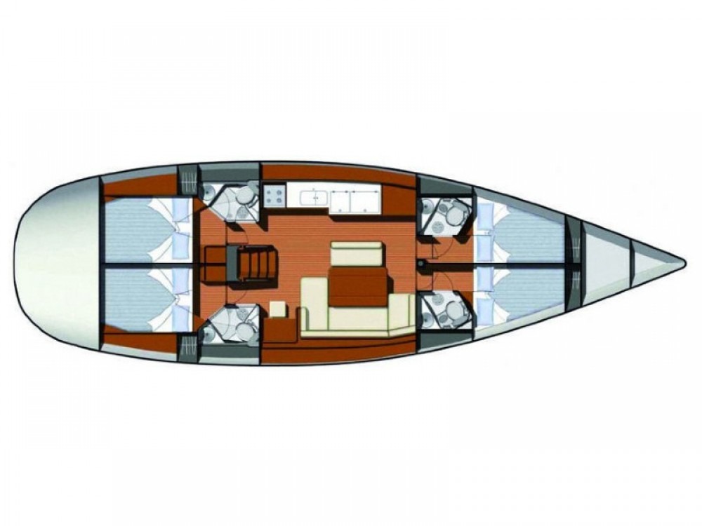 Jeanneau Sun Odyssey 49i te huur van particulier of professional in