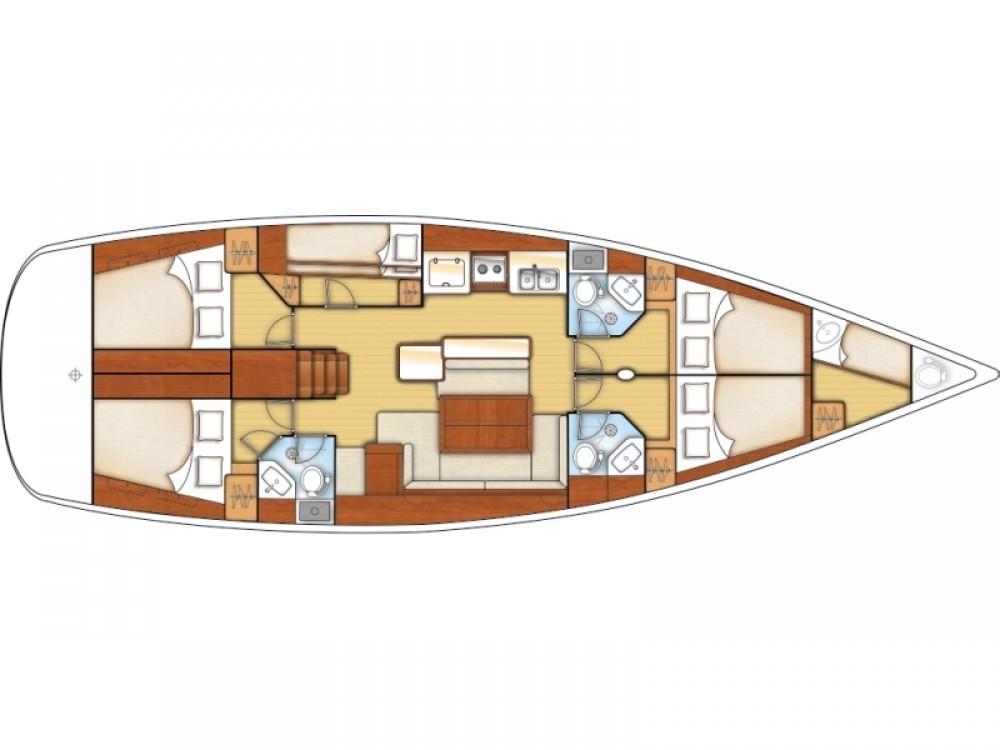Huur Zeilboot met of zonder schipper Bénéteau in Šibenik