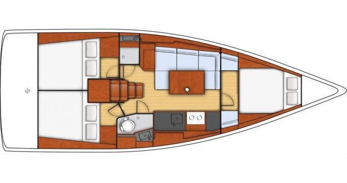 Bootverhuur Šibenik goedkoop Oceanis 38