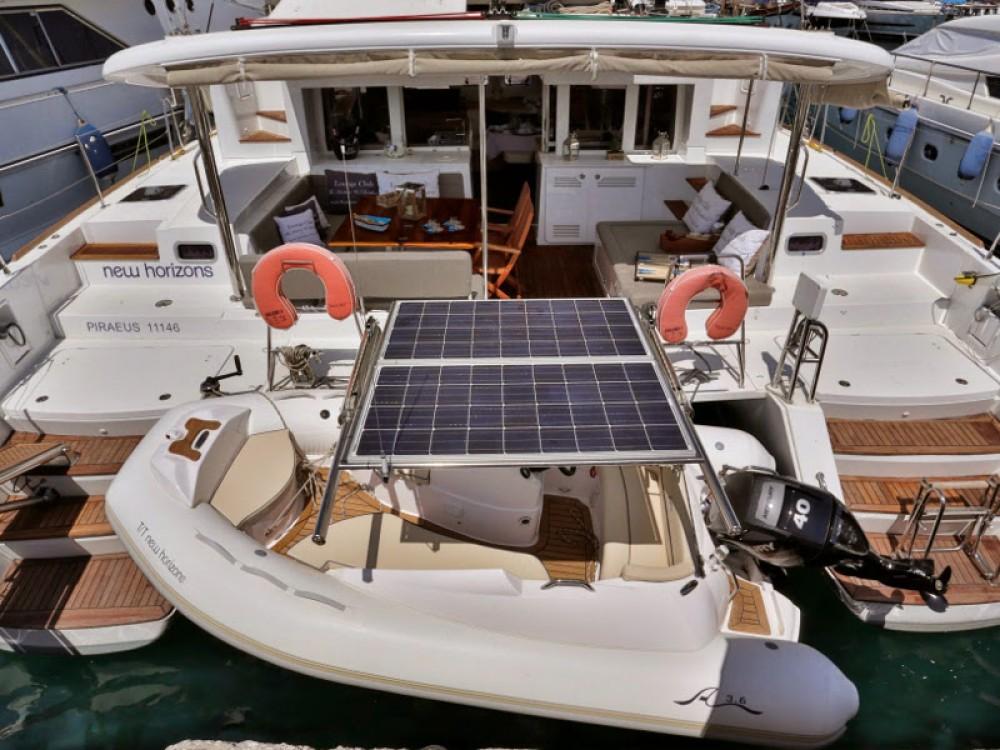 Verhuur Catamaran in Leucade - Lagoon Lagoon 450