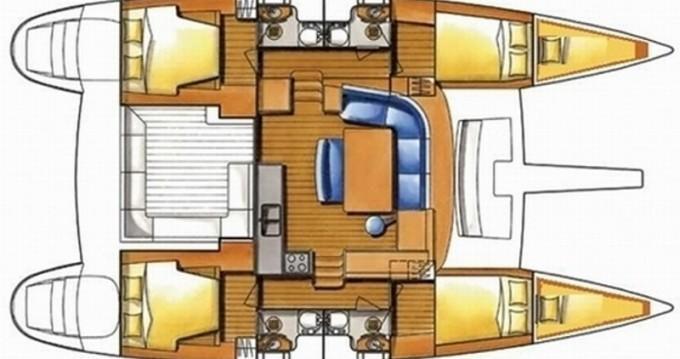 Verhuur Catamaran in Mykonos (Island) - Lagoon Lagoon 400