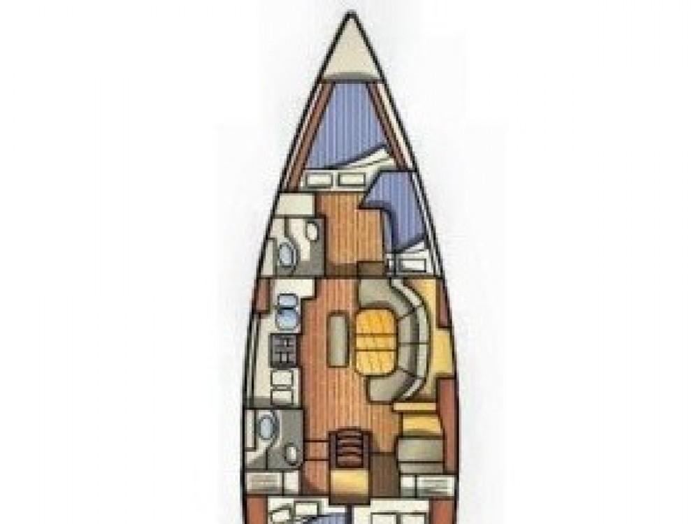 Bénéteau Oceanis 411 te huur van particulier of professional in