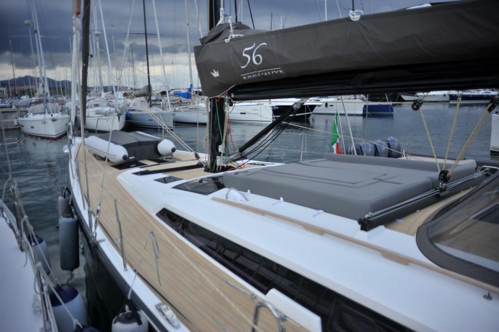 Verhuur Zeilboot in Marina di Portisco - Dufour Dufour 56 Exclusive