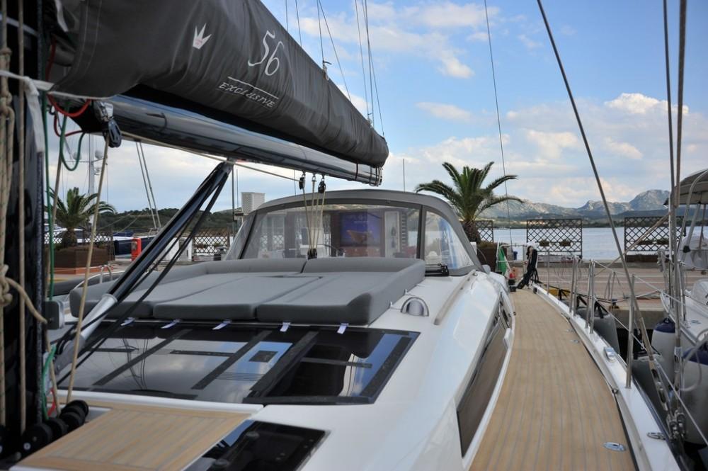 Bootverhuur Dufour Dufour 56 Exclusive in Marina di Portisco via SamBoat
