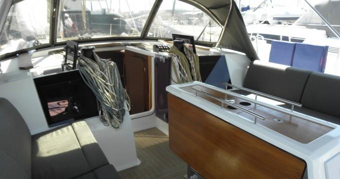 Verhuur Zeilboot in Marina di Portisco - Dufour Dufour 460 Grand Large 5Cab