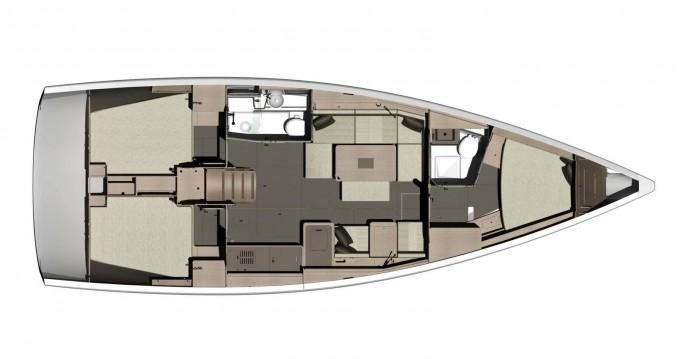 Bootverhuur Dufour Dufour 412 Grand Large in Marina di Portisco via SamBoat