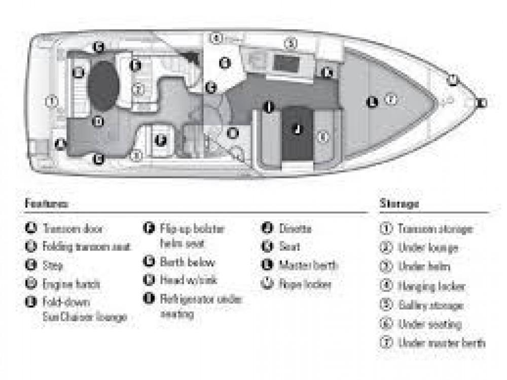 Huur een Bayliner Bayliner 285 Cruiser in