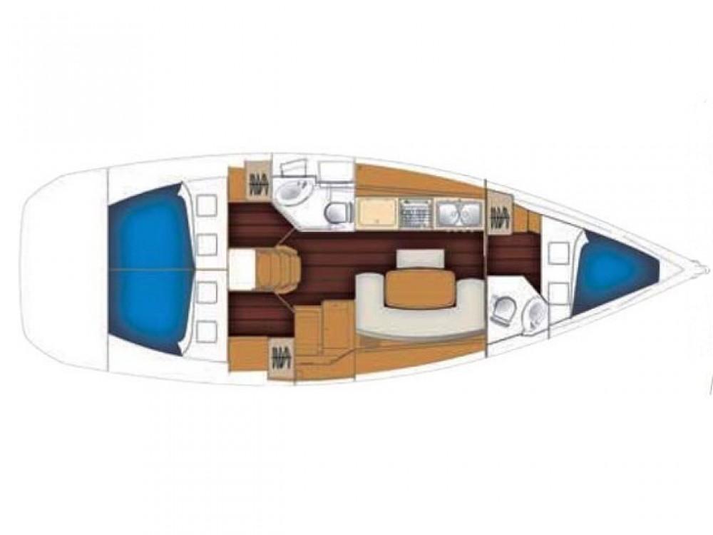 Huur Zeilboot met of zonder schipper Bénéteau in Palma de Mallorca