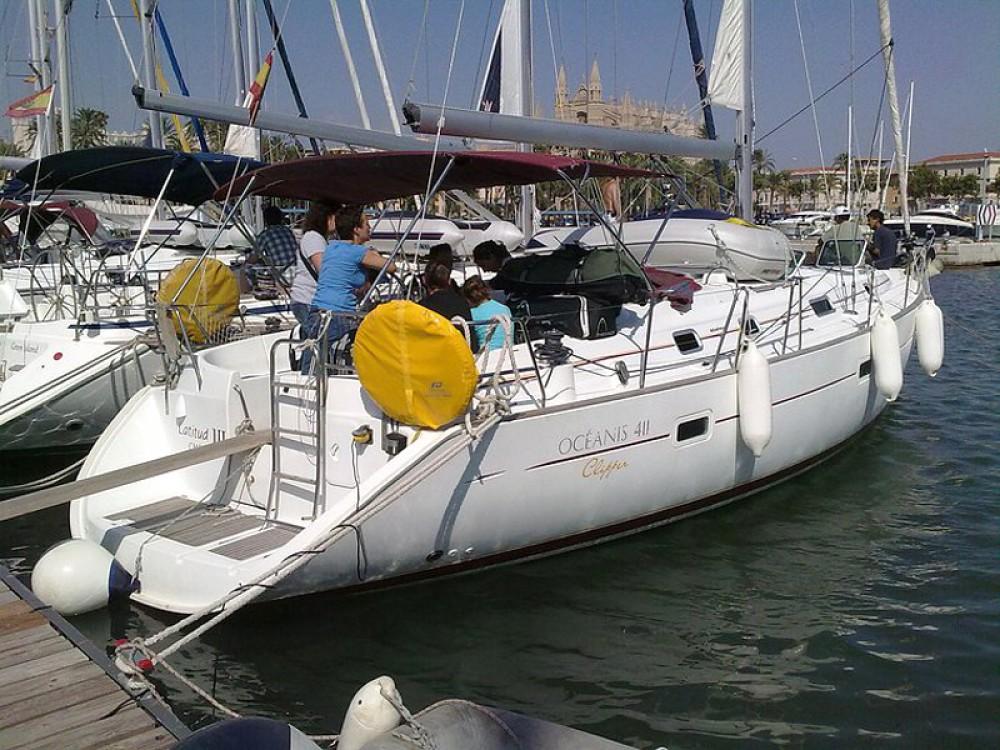 Bootverhuur Palma de Mallorca goedkoop Oceanis 411-4