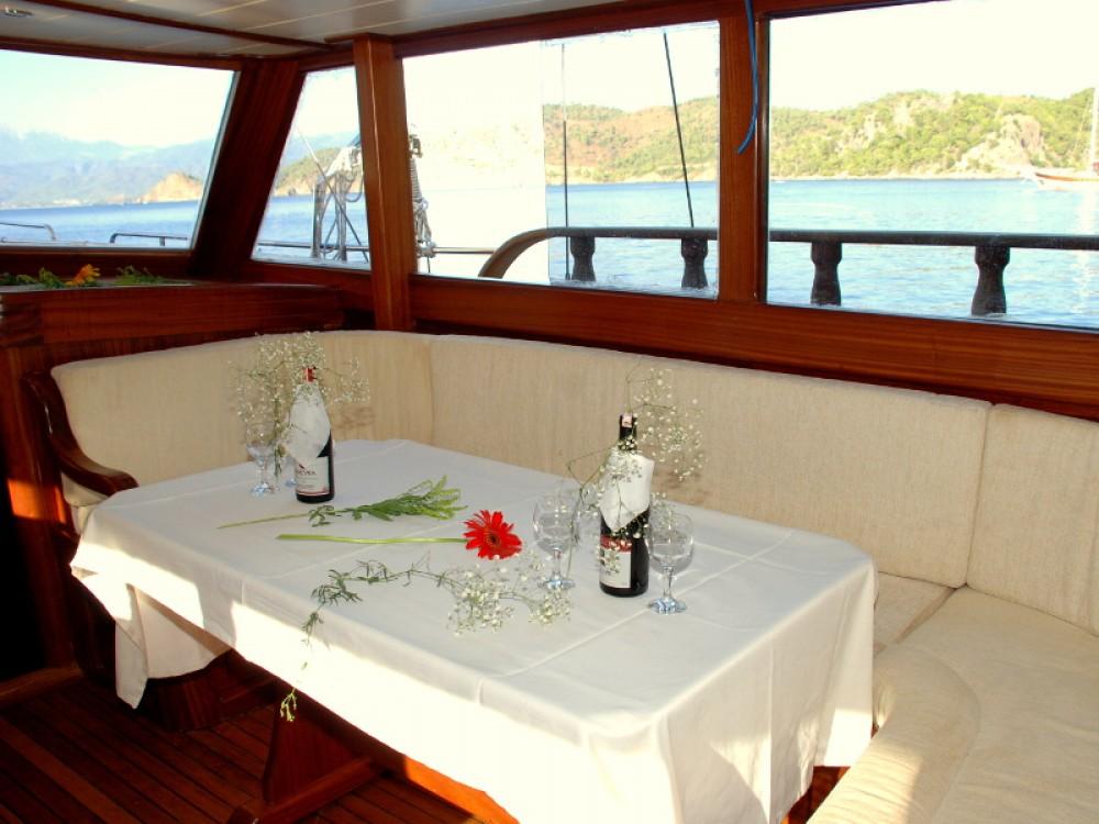 Verhuur Zeilboot in Bodrum -  Gulet Be Happy