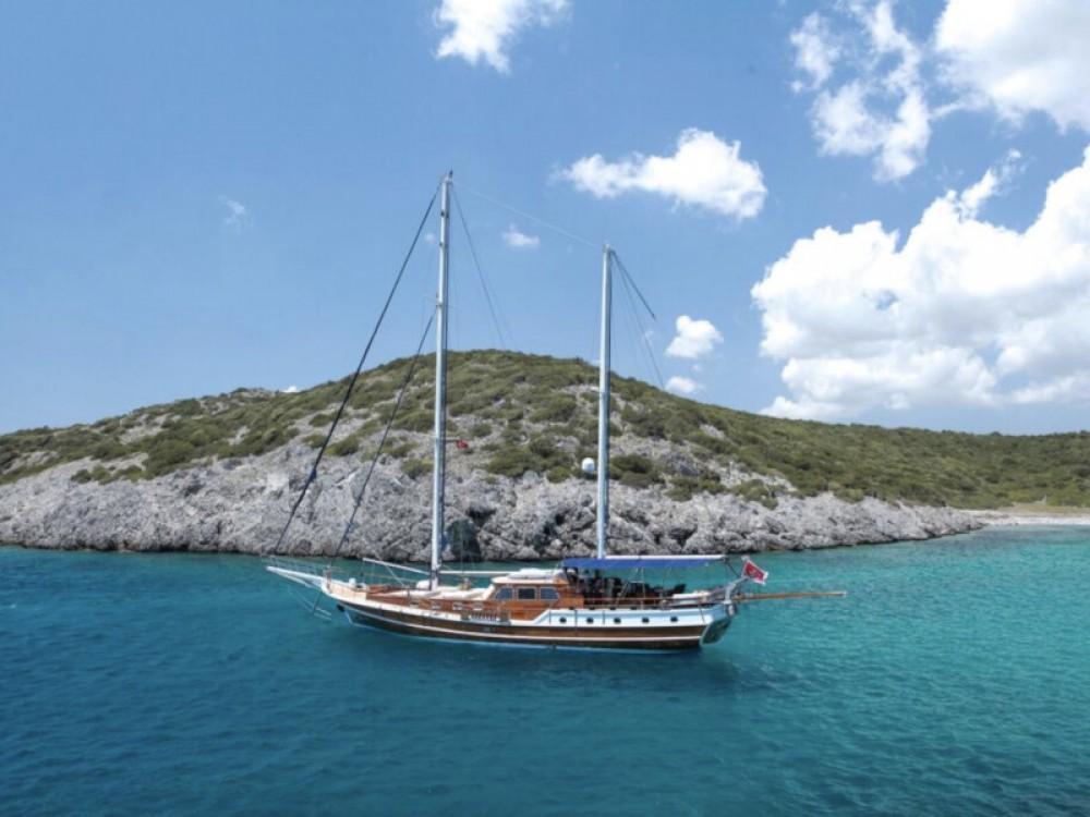 Verhuur Zeilboot in Bodrum -  Gulet Dulcinea