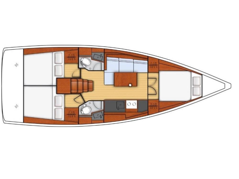 Bénéteau OCEANIS 38.1 BT te huur van particulier of professional in Sukošan