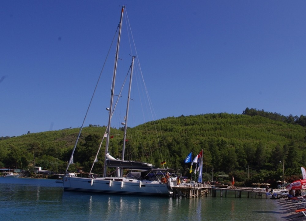 Bootverhuur Hanse Hanse 470e in Marmaris via SamBoat