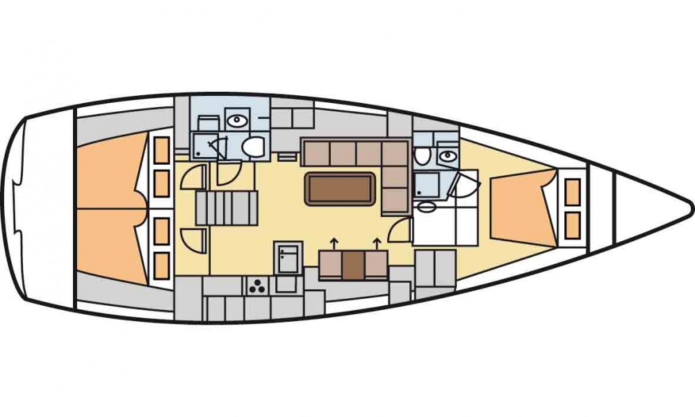 Jachthuur in Marmaris - Hanse Hanse 470e via SamBoat