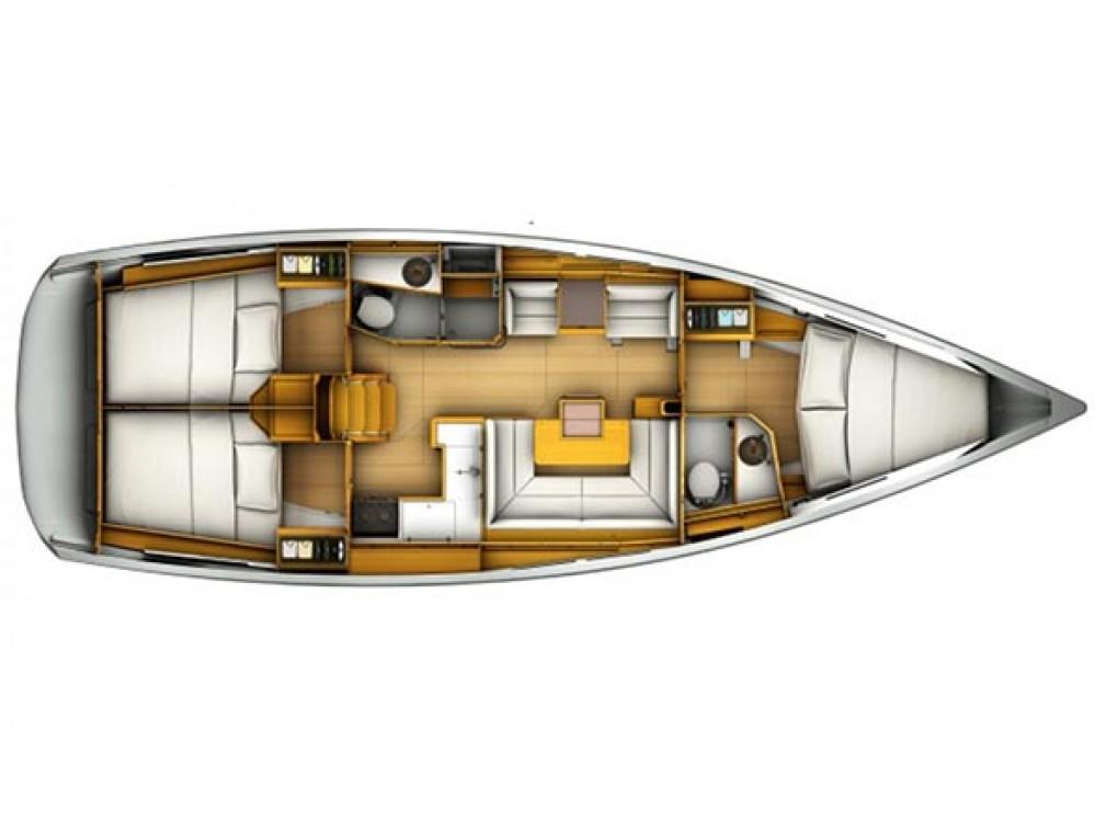 Bootverhuur Jeanneau Sun Odyssey 419 in Rogoznica via SamBoat