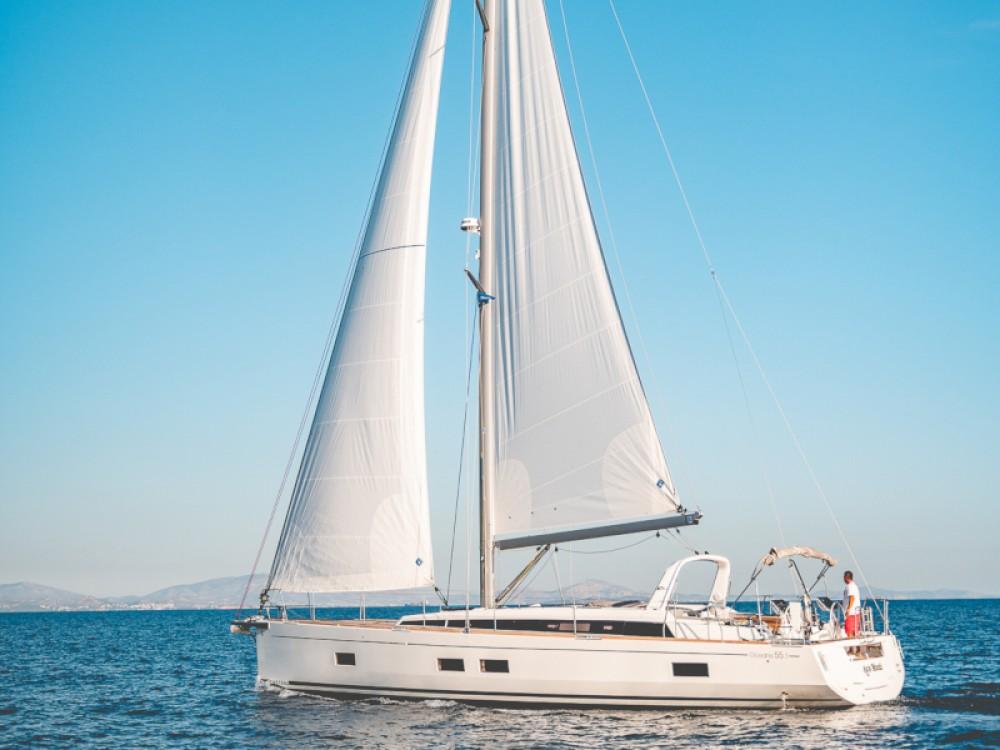 Verhuur Zeilboot in Marina de Alimos - Bénéteau Oceanis 55.1