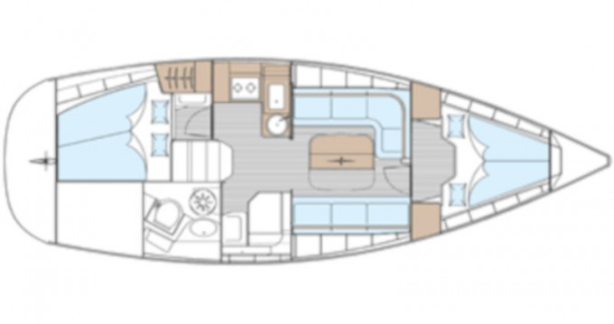 Verhuur Zeilboot in Ko Chang - Bavaria Bavaria 33