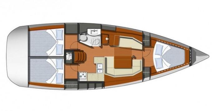 Jachthuur in Baška Voda - Jeanneau Sun Odyssey 39i via SamBoat