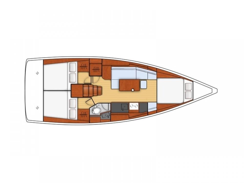 Bénéteau Oceanis 38 Owner Version te huur van particulier of professional in Grad Pula