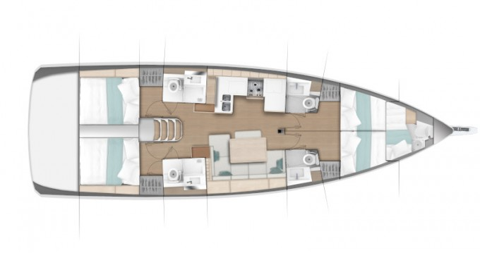 Verhuur Zeilboot in Primošten - Jeanneau Sun Odyssey 490