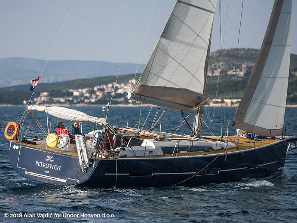 Verhuur Zeilboot in Primošten - Dufour Dufour 560 Grand Large