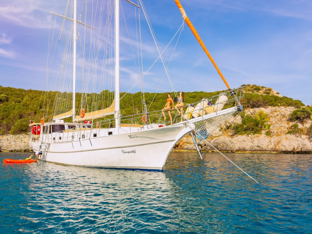 Verhuur Zeilboot in Bodrum -  Gulet Tranquility