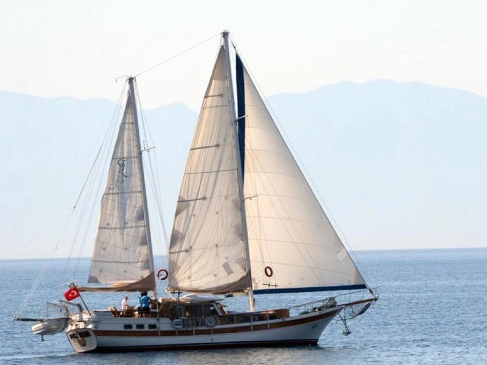 Verhuur Zeilboot in Bodrum -  Gulet Tifil