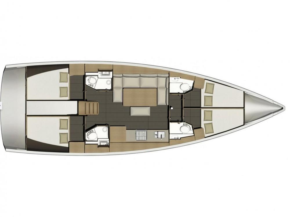 Bootverhuur Dufour Dufour 460 Grand Large in  via SamBoat