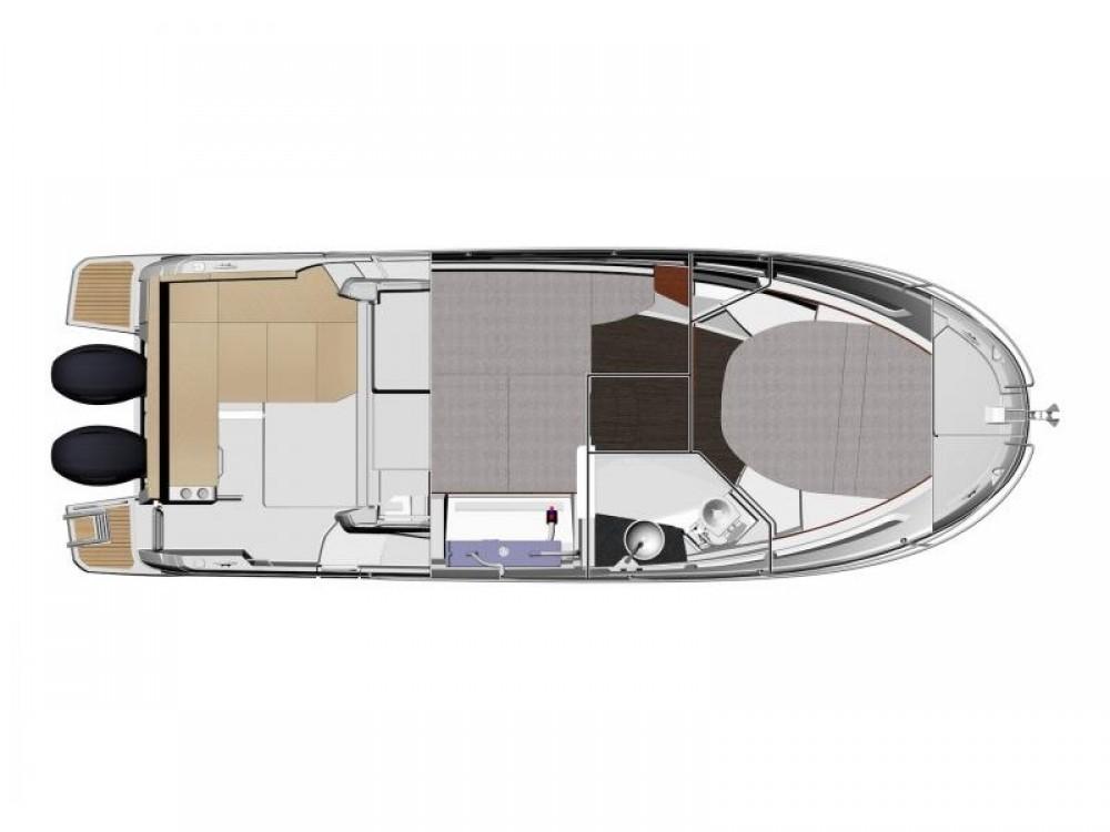 Verhuur Motorboot in Pula - Jeanneau Jeanneau Merry Fisher 895