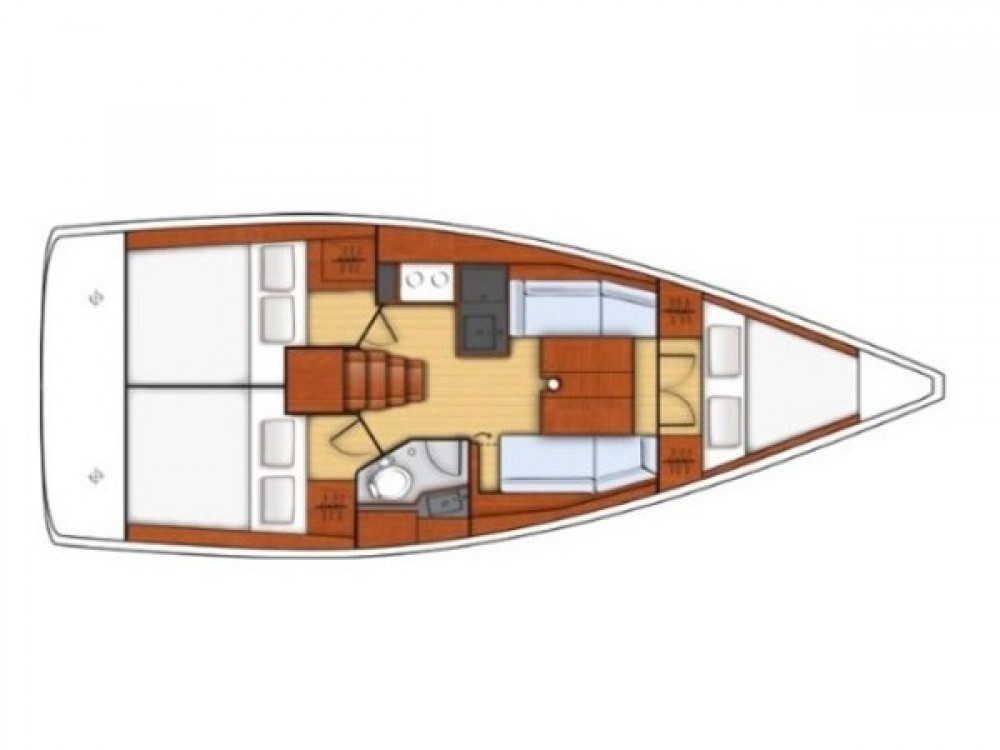 Verhuur Zeilboot in Medulin - Bénéteau Oceanis 35.1