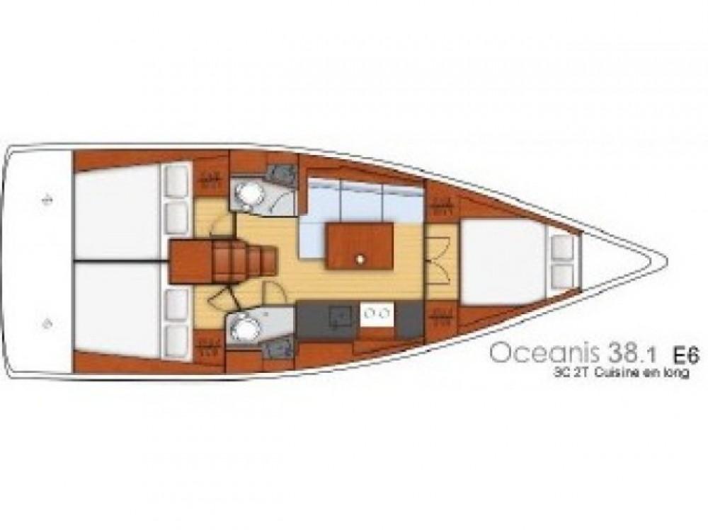 Bénéteau Oceanis 38.1 te huur van particulier of professional in ACI Marina Dubrovnik