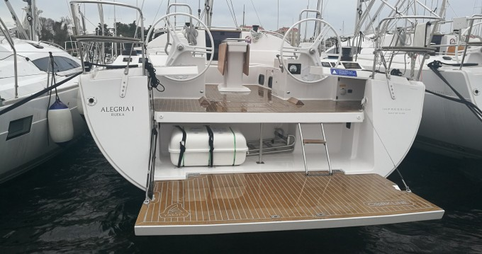 Verhuur Zeilboot in Biograd na Moru - Elan Impression 50