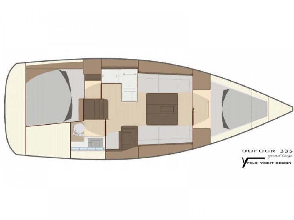 Bootverhuur Dufour Dufour 335 GL in Marmaris via SamBoat